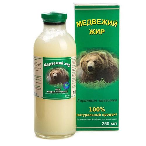 Жир медведя 250 мл