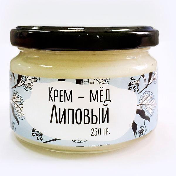 Крем-мёд липовый, 250 гр.