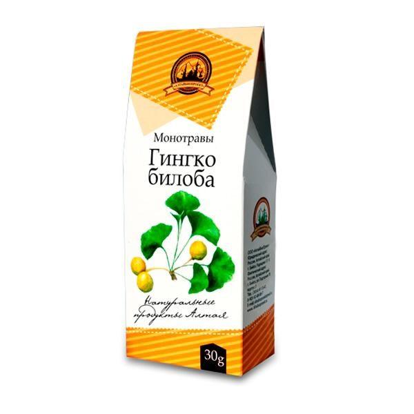 Гингко-билоба, 30 гр. упаковка