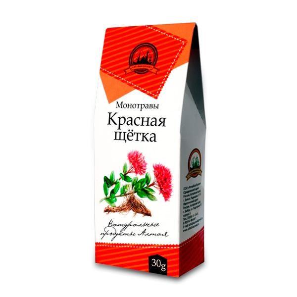 Красная щетка, 30 гр. упаковка
