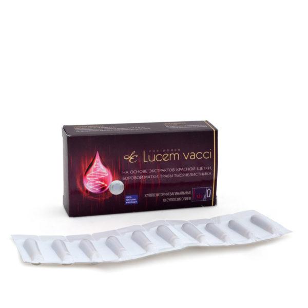 Упаковка и блистер Lucem Vacci